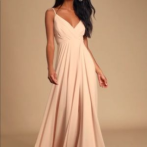 """Lulu's Blush Pink Dress - ALTERED FOR 5'5"""" HEIGHT"""